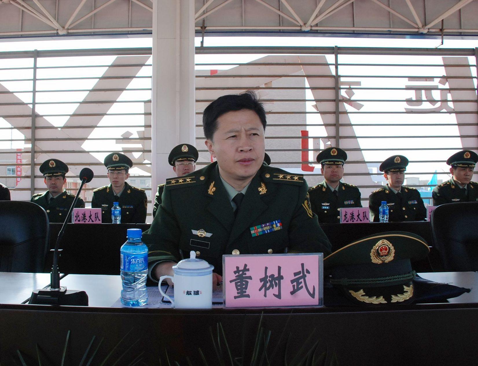 3月30日,葫芦岛支队在模拟训练基地隆重召开全市消防部队执勤岗位练兵
